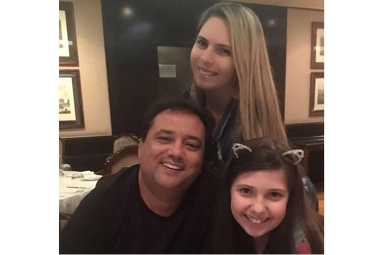 Luciana Lacerda, Geraldo Luis e Giovanna (Reprodução/Instagram)