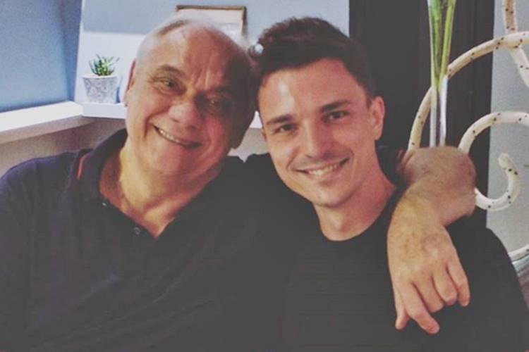 Marcelo Rezende e Diego Esteves (Reprodução/Instagram)