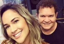 Michele Andrade e Ximbinha (Reprodução/Instagram)