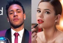 Neymar e Bruna Marquezine (Reprodução/Instagram)