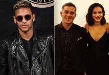 Neymar, Ivan Moré e Bruna Marquezine (Reprodução/Instagram)