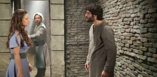 O Rico e Lázaro - Joana - Zac - Asher (Munir Chatack/ Record TV)