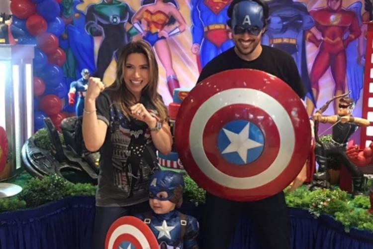 Grávida, Patricia Abravanel celebra três anos do primogênito – Confira as fotos!