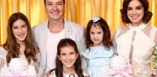 Rodrigo Faro com a família/Instagram