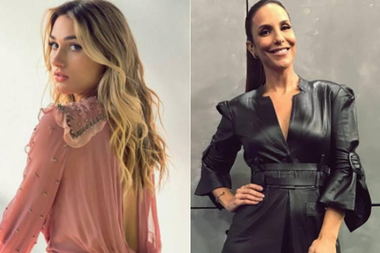 Sasha Meneghel e Ivete Sangalo (Reprodução/Instagram)