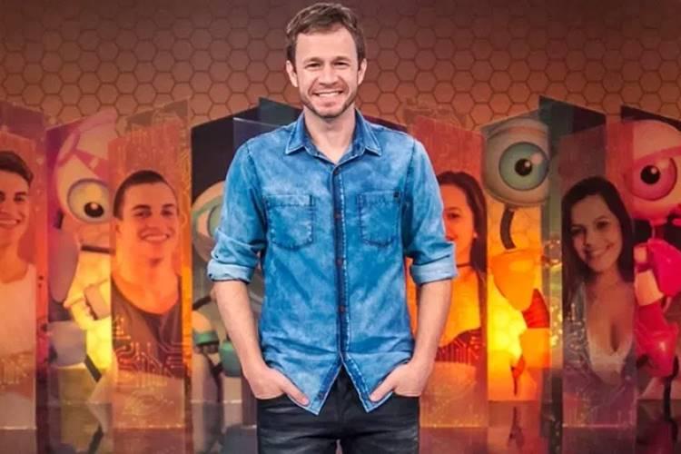 Thiago Leifert (Reprodução/TV Globo)