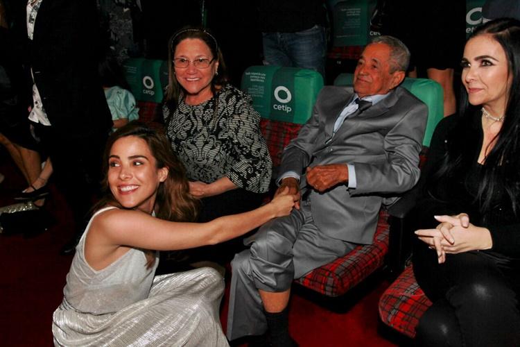 Wanessa com os avós (Marcos Ribas/ Brazil News)