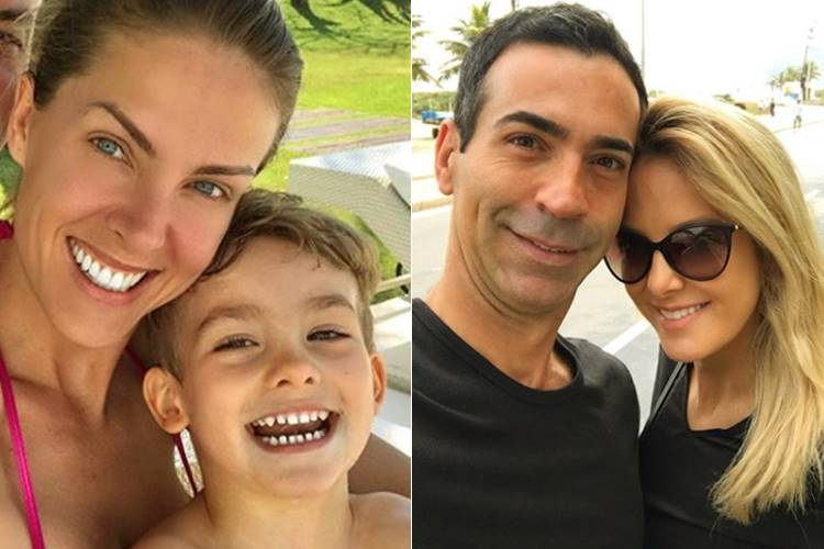Ana Hickmann, Alexandre Correa, César Tralli e Ticiane Pinheiro (Reprodução/Instagram)