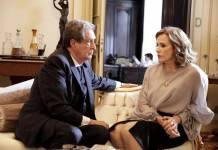 Apocalipse - Débora tenta convencer Giancarlo a tirar o poder de Adriano (Munir Chatack/ Record TV)