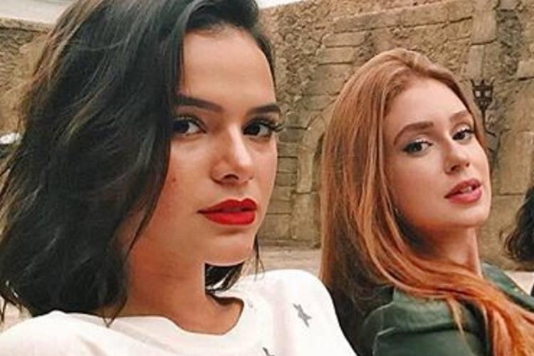 Bruna Marquezine e Marina Ruy Barbosa (Reprodução/ Instagram)