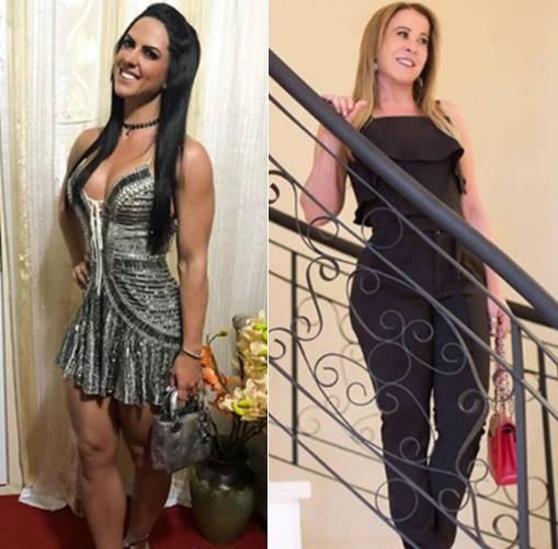 Comparação 2/ Graciele Lacerda e Zilu Godoi (Reprodução/Instagram)