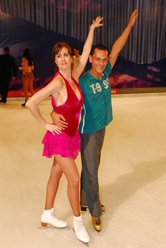 Dança do Gelo - Marcia Cabritta (TV Globo / Renato Rocha Miranda)
