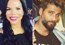 Daiane Rodrigues e Bruno Gagliasso (Reprodução/Instagram)