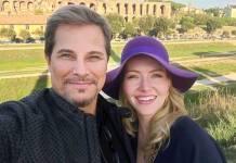Edson Celulari e Karin Roepke (Reprodução/Instagram)