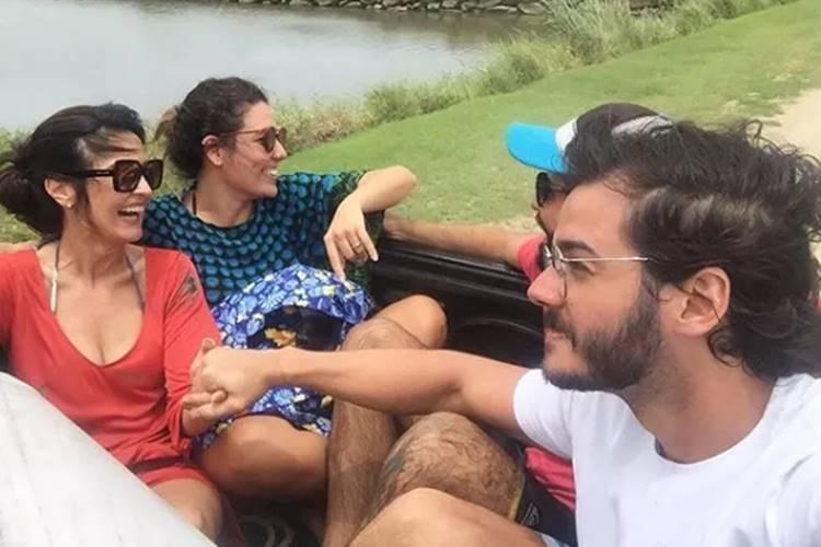 Fátima Bernardes e Túlio Gadêlha (Reprodução/Instagram)