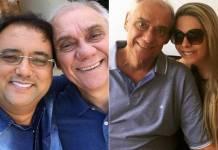 Geraldo Luís, Marcelo Rezende e Luciana Lacerda (Reprodução/Instagram)