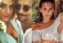 Giovanna Ewbank, Bruno Gagliasso e Bruna Marquezine (Reprodução/Instagram)