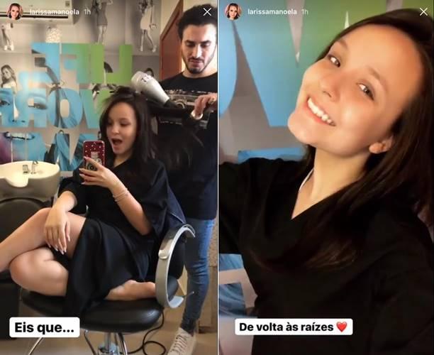 Instagram Stories/ Larissa Manoela