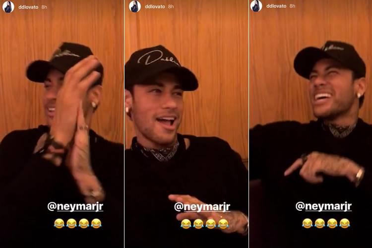 Instagram Stories/Neymar