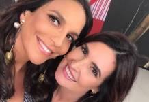 Ivete Sangalo e Fátima Bernardes (Reprodução/Instagram)