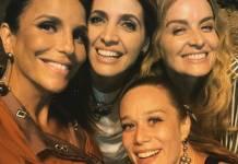 Ivete Sangalo, Poliana Britta, Angélica e Mariana Ximenes (Reprodução/Instagram)