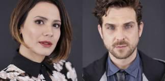 Juliana Knust e Igor Rickli (Munir Chatack/ Record TV)