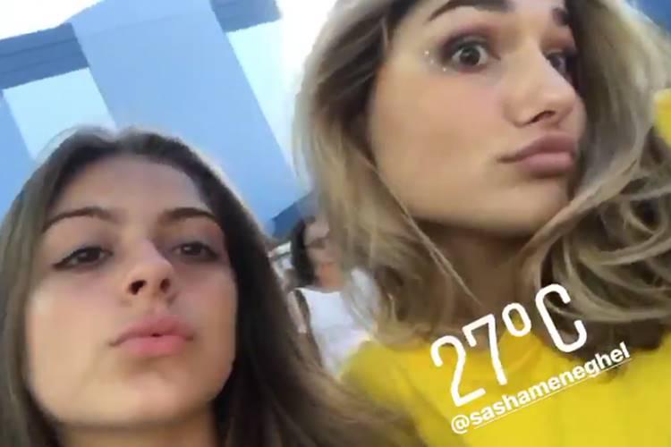 Luana e Sasha/Instagram