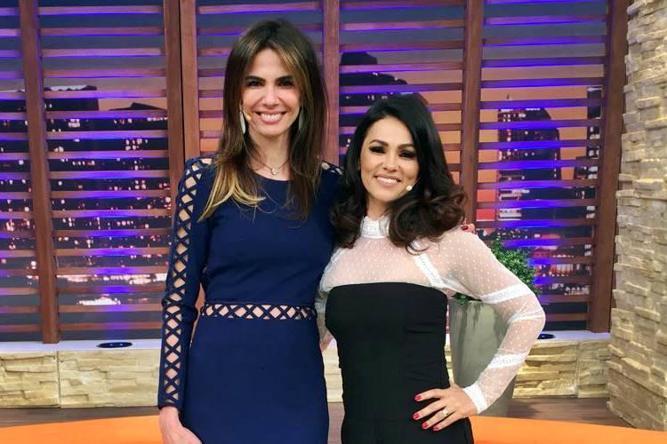 Luciana Gimenez e Suzana Alves (Divulgação/RedeTV!)