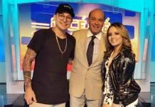 MC Gui - Marcelo de Carvalho e Larissa Manoela (Divulgação/RedeTV!)