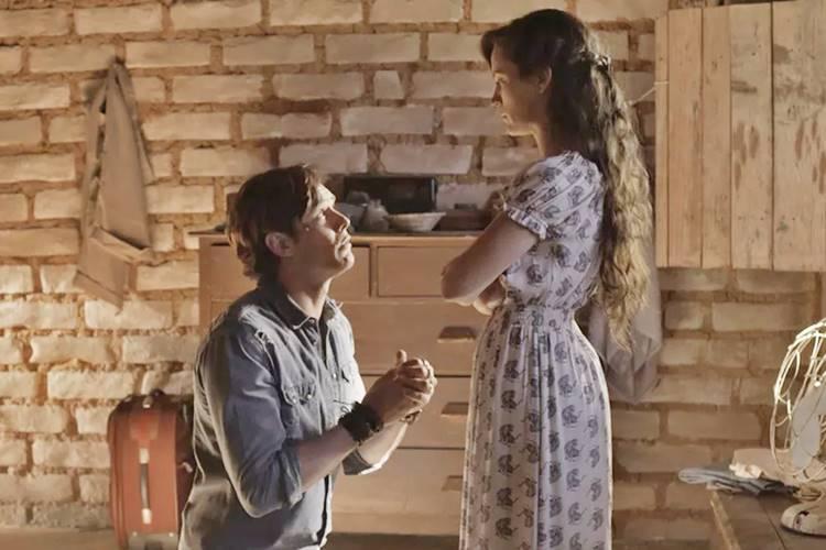 O Outro Lado do Paraíso - Gael e Clara (Reprodução/TV Globo)