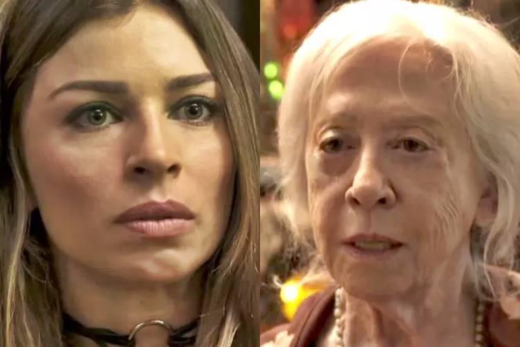 O Outro Lado do Paraíso - Livia e Mercedes (Reprodução/TV Globo)