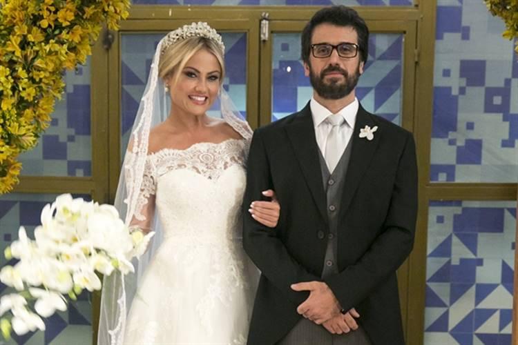 O Outro Lado do Paraíso - Suzy e Samuel se casam (Globo/Rafael Campos)