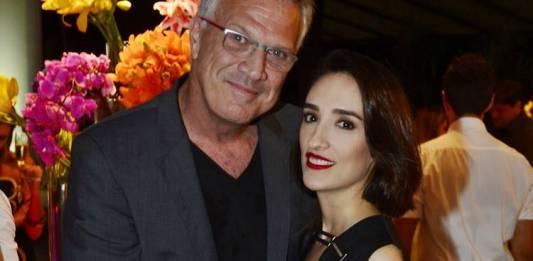 Pedro Bial e Maria Prata (Globo / Renato Miranda)