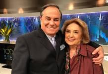 Ronnie Von e Eva Wilma/Divulgação