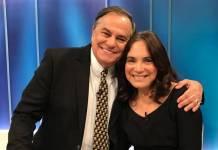 Ronnie Von e Regina Duarte/Divulgação