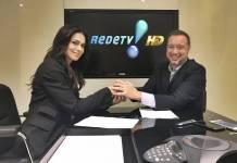 Rosana Jatobá e Franz Vacek (Divulgação/RedeTV!)