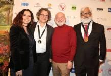 Rosane Svartman, Luiz Henrique Rios, Silvio de Abreu e Paulo Halm (Globo/ Luiz C. Ribeiro)