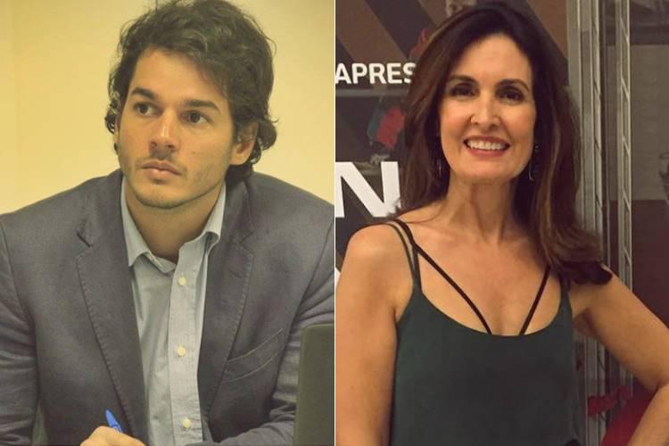 Túlio Gadêlha e Fátima Bernardes (Reprodução/Facebook e Instagram)