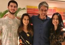 Vinícius, Beatriz, William e Laura Bonemer (Reprodução/Instagram)