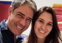 William Bonner e Beatriz Bonemer (Reprodução/Instagram