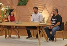 Ana Paula Padrão conversa com Pablo Oazen e Francisco Pinheiro/Band