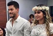 Arthur Aguiar e Mayra Cardi se casam/Instagram