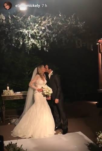 Casamento Tici e Tralli/Instagram