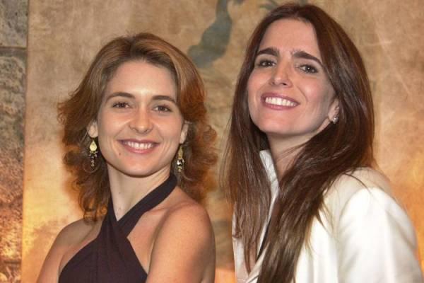 Celebridade - Laura e Maria Clara (TV Globo / Gianne Carvalho)