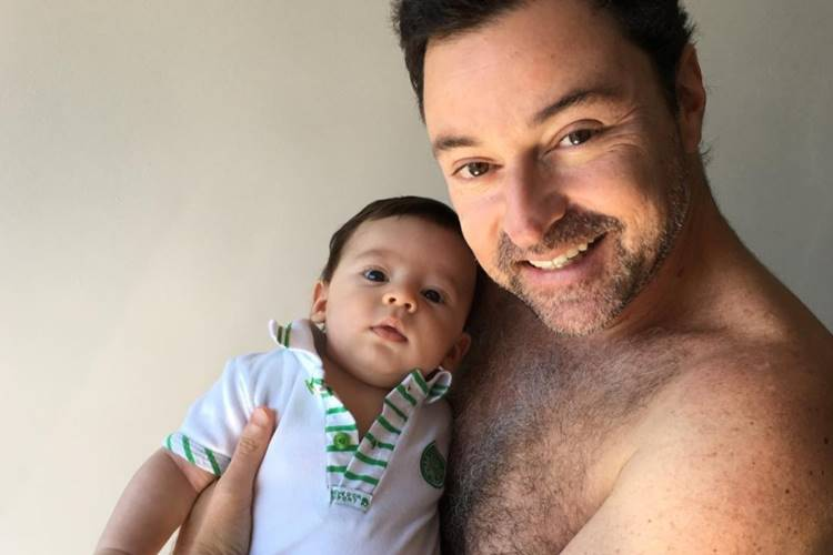 Emilio Orciollo Netto com Lorenzo/InstagramEmilio Orciollo Netto com Lorenzo/Instagram