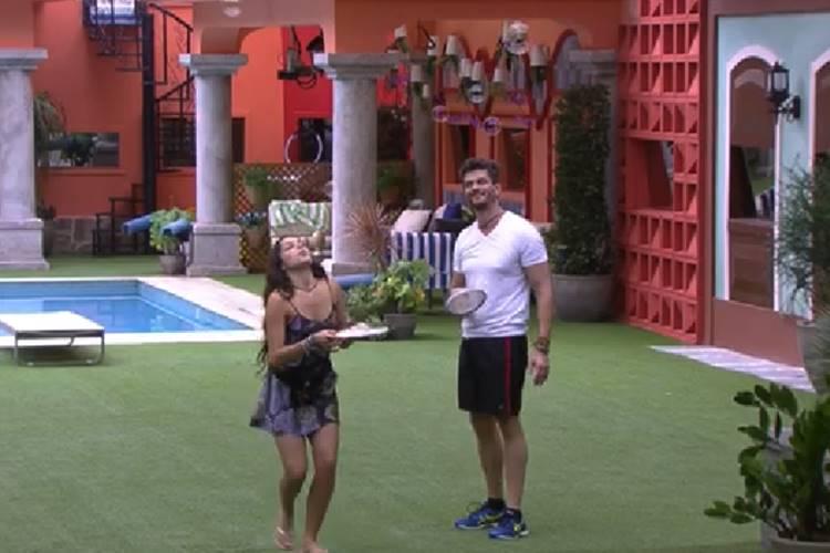 Emilly e Marcos no BBB17 ReproduoTV Globo