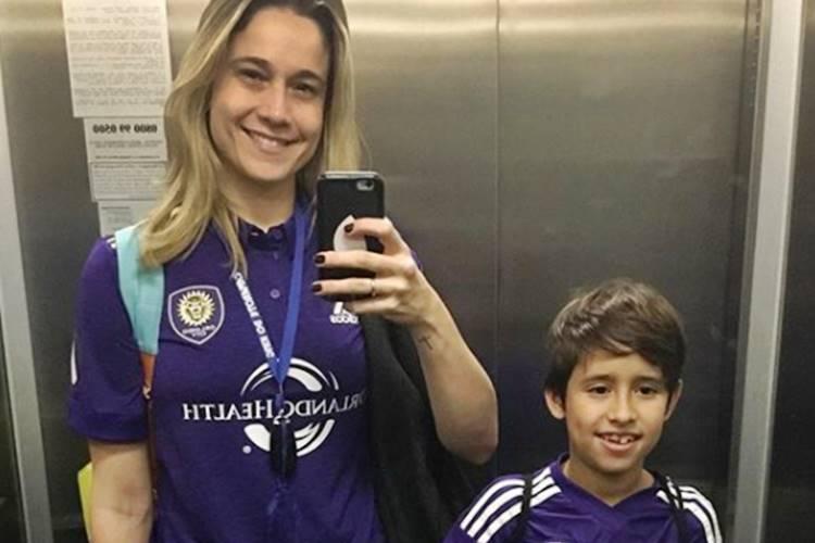 Fernanda Gentil e Lucas (Reprodução/Instagram)