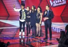 Finalistas - The Voice (Globo/Paulo Belote)
