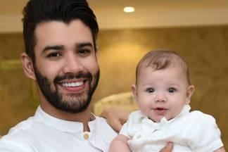 Gusttavo Lima e Gabriel (Reprodução/Instagram/andressasuita)