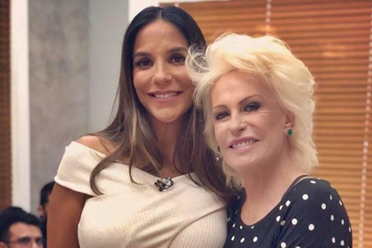 Ivete Sangalo e Ana Maria Braga (Reprodução/Instagram)